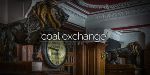 Coal Exchange, Cardiff, Wales