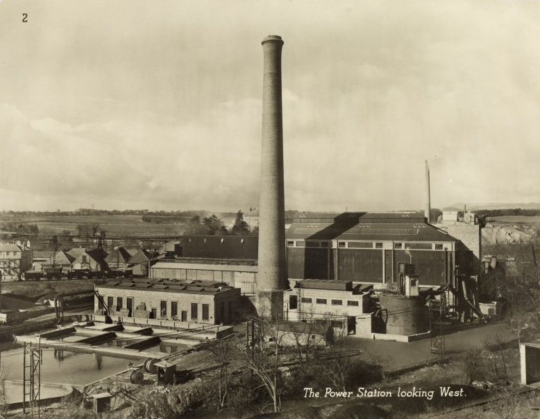 Markinch Power Station - The powerhouse in 1955​