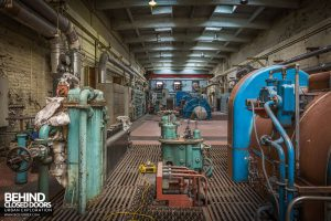 Markinch Power Station - Equipment by side of turbine