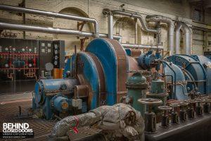 Markinch Power Station - Alternator detail