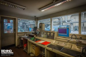 Markinch Power Station - Modernised control room