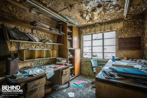 Markinch Power Station - The decaying power station library
