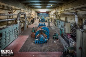 Markinch Power Station - Overview of the turbine hall