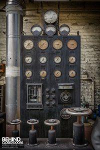 Markinch Power Station - Original gauge panel