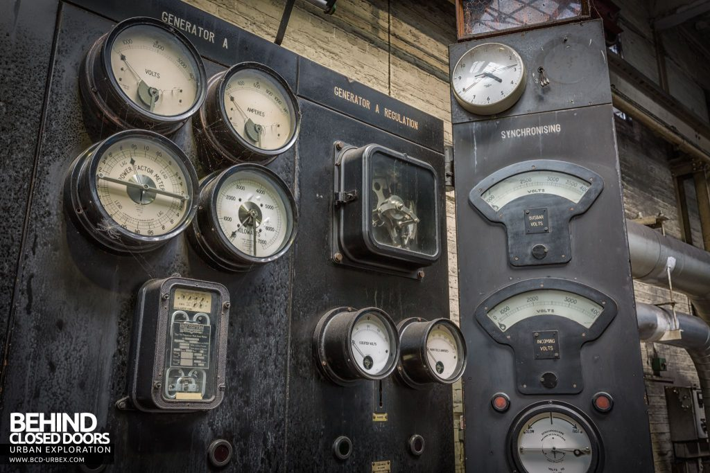 Markinch Power Station - Original gauges