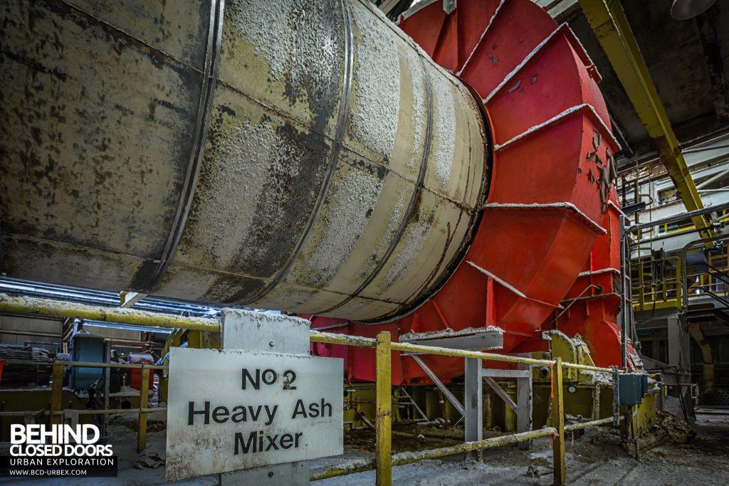 Winnington Soda Ash Works - Heavy ash mixers were huge