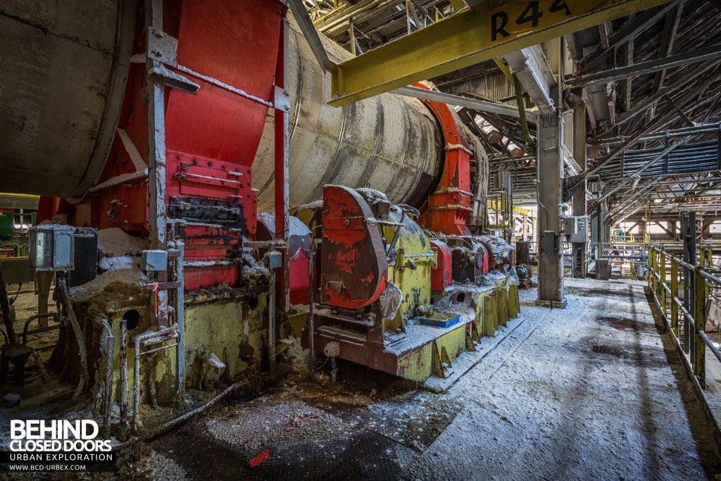 Winnington Soda Ash Works - Drive motors and gears