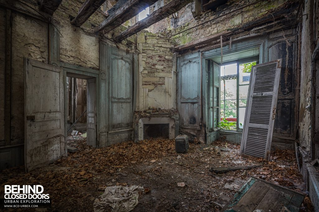 Château Bambi, France - One of the many decaying rooms