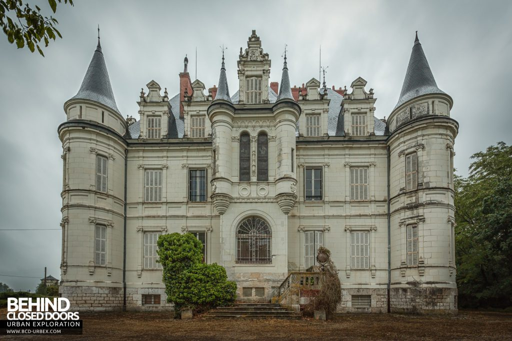 Château Poseidon, France - External view of the grand house