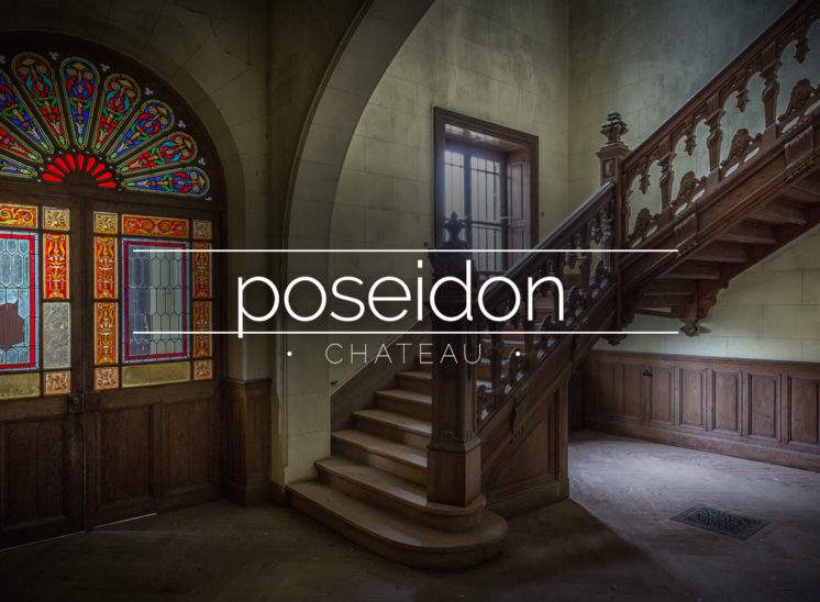 Château Poseidon, Abandoned House, France