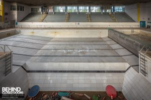 Scartho Baths - View from diving board