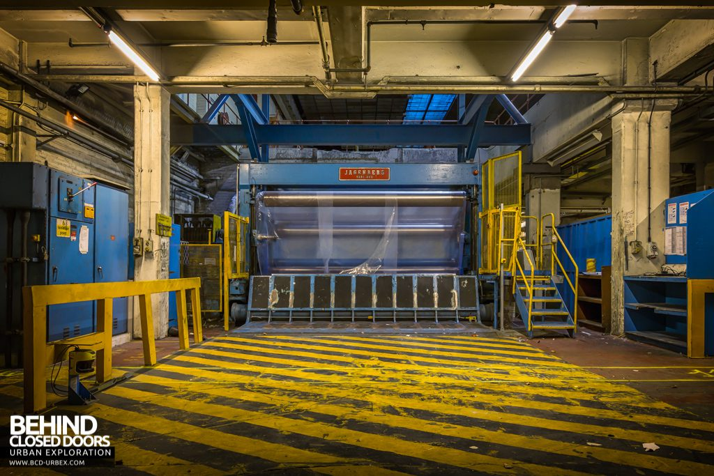 Tullis Russell Papermakers - Finishing area machines