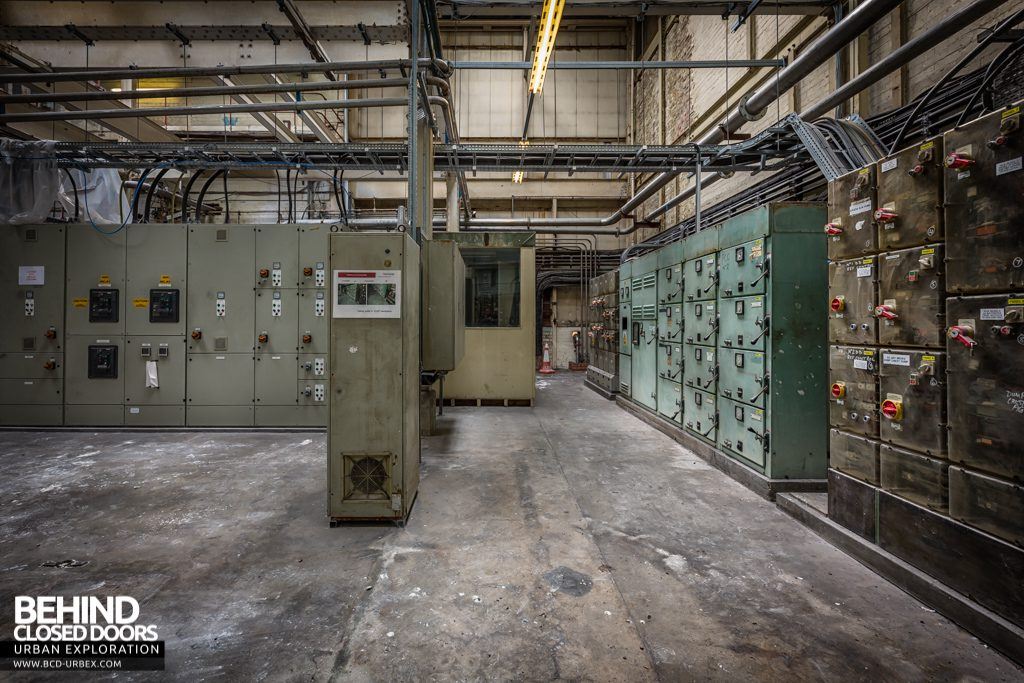 Tullis Russell Papermakers - Electrical switchroom