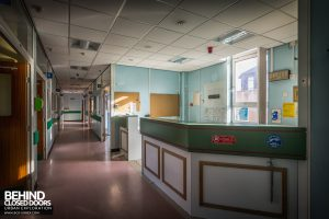 Alder Hey - Ward reception