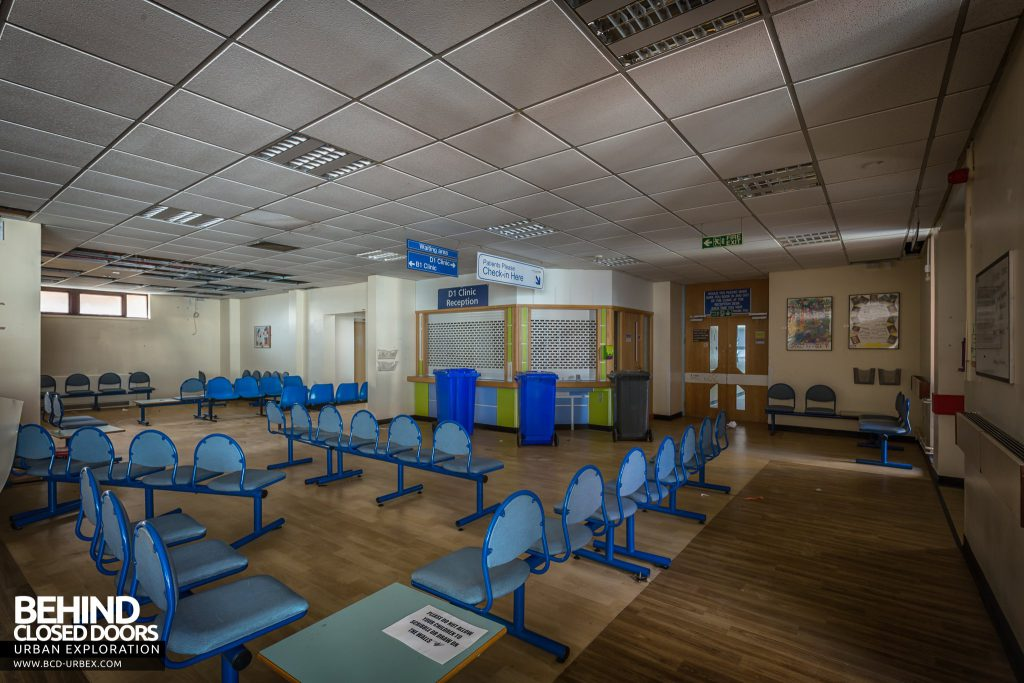Alder Hey Children's Hospital - Accident and Emergency waiting area