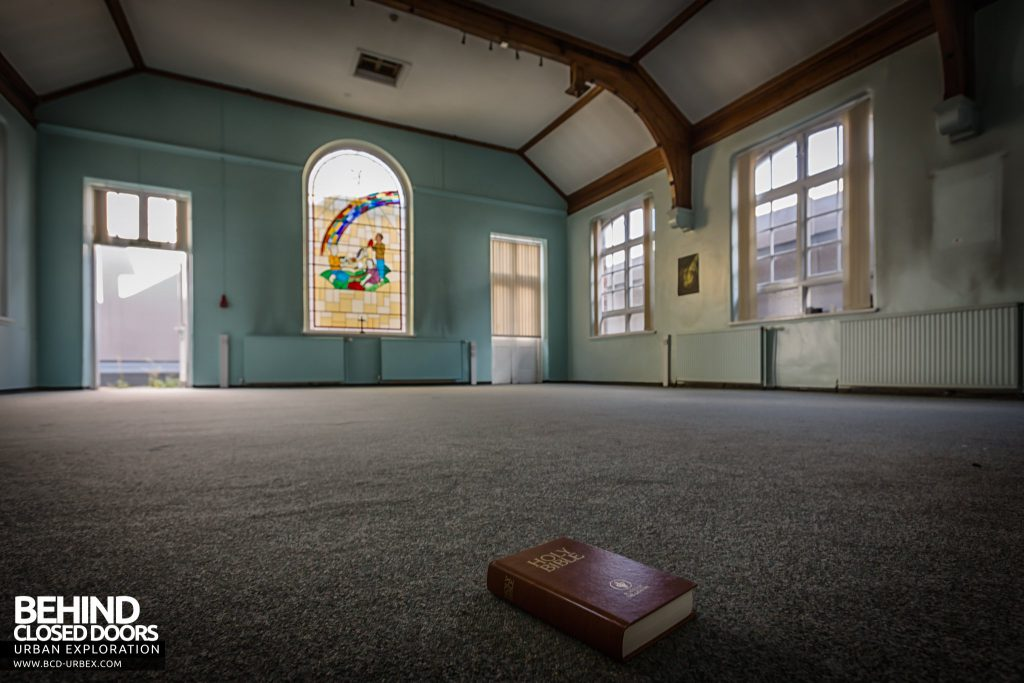 Alder Hey Children's Hospital - The hospital's chapel is now almost empty