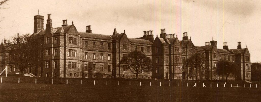 Archive image of Sunnyside Hospital / Montrose Asylum when the building was in use