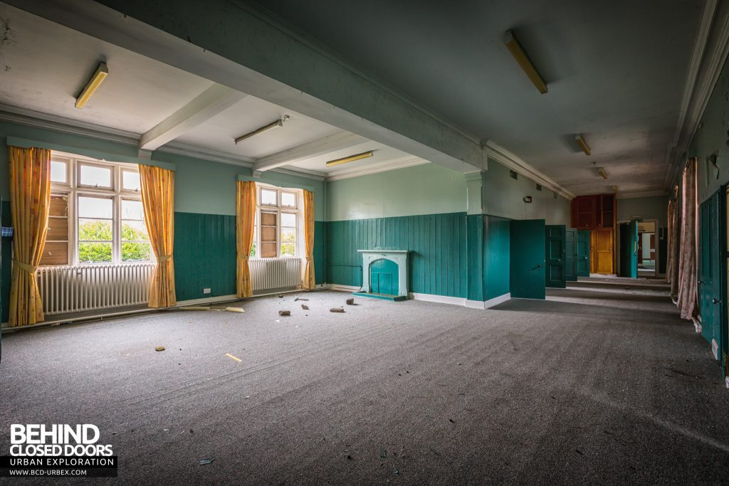 Sunnyside Asylum, Montrose - Ward with original cells