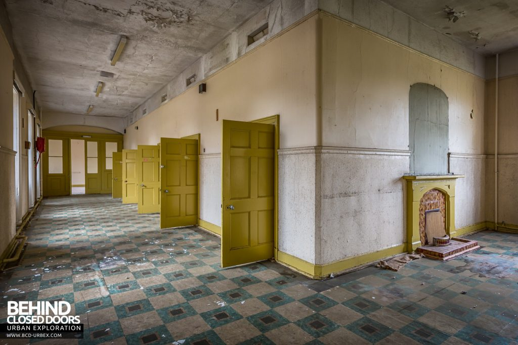 Sunnyside Asylum, Montrose - Yellow ward upstairs