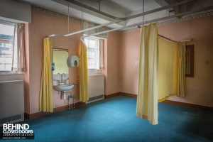 Sunnyside Hospital - Curtains still hanging on another ward
