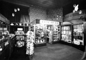 How it used to look - Historic photo of the Crock of Gold Giftshop