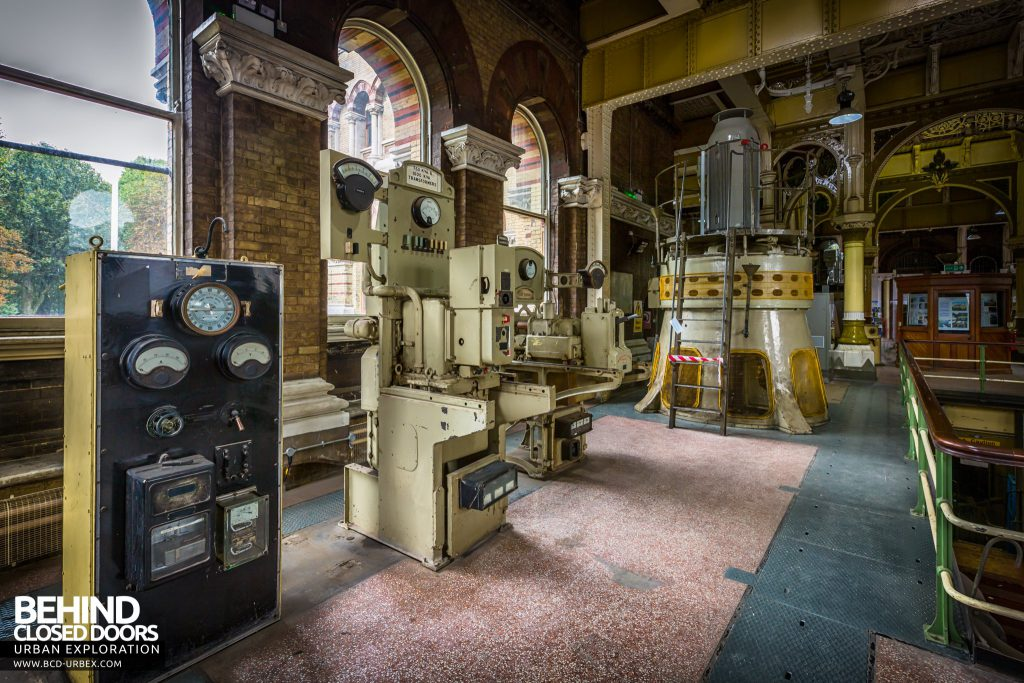 Abbey Mills Pumping Station - Switchgear
