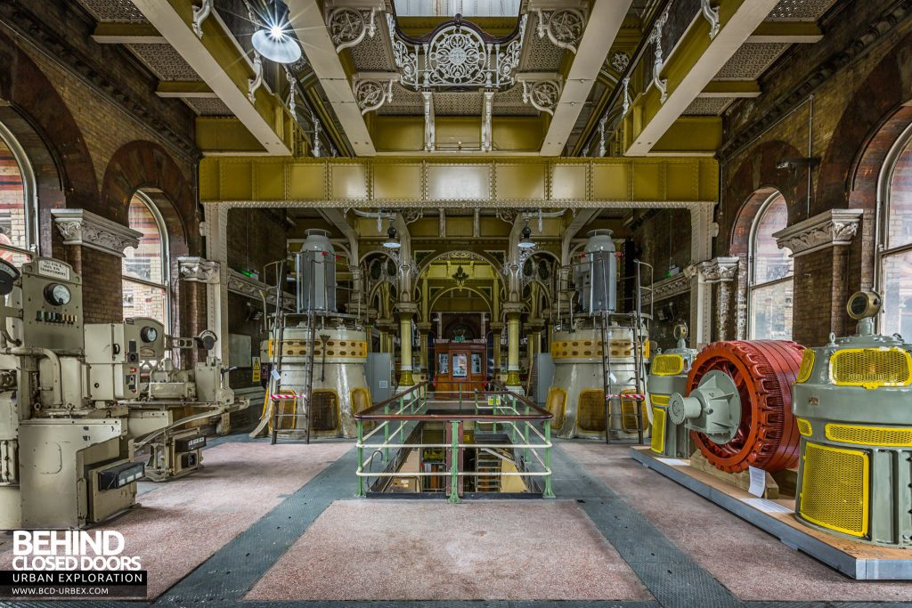 Abbey Mills Pumping Station - Ancillary equipment in one wing