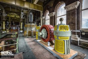 Abbey Mills - Old machinery