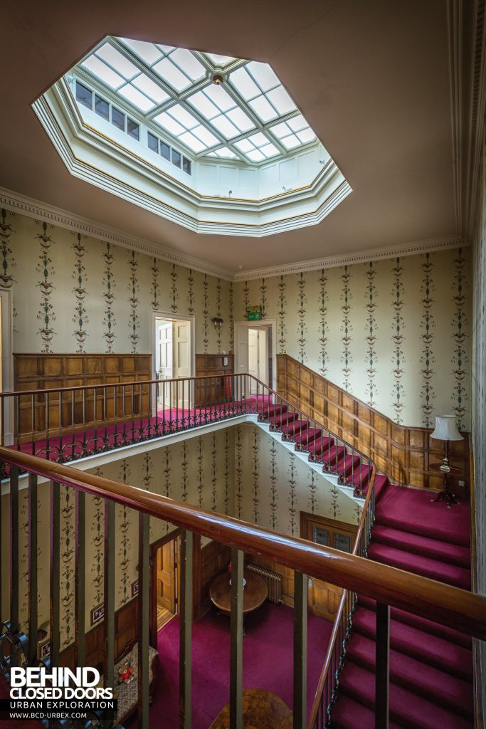 Quorn House - Top of stairs