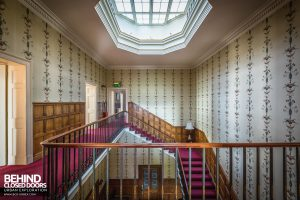 Quorn House - View across stairs