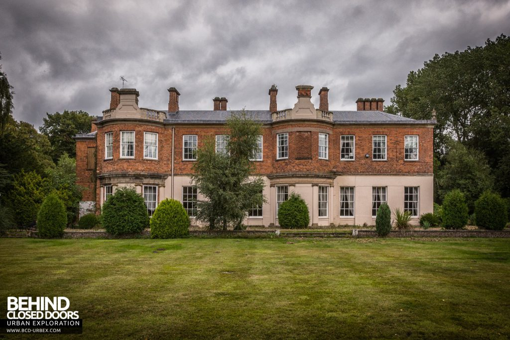 Quorn House, Leicestershire - viewed from the back of the property