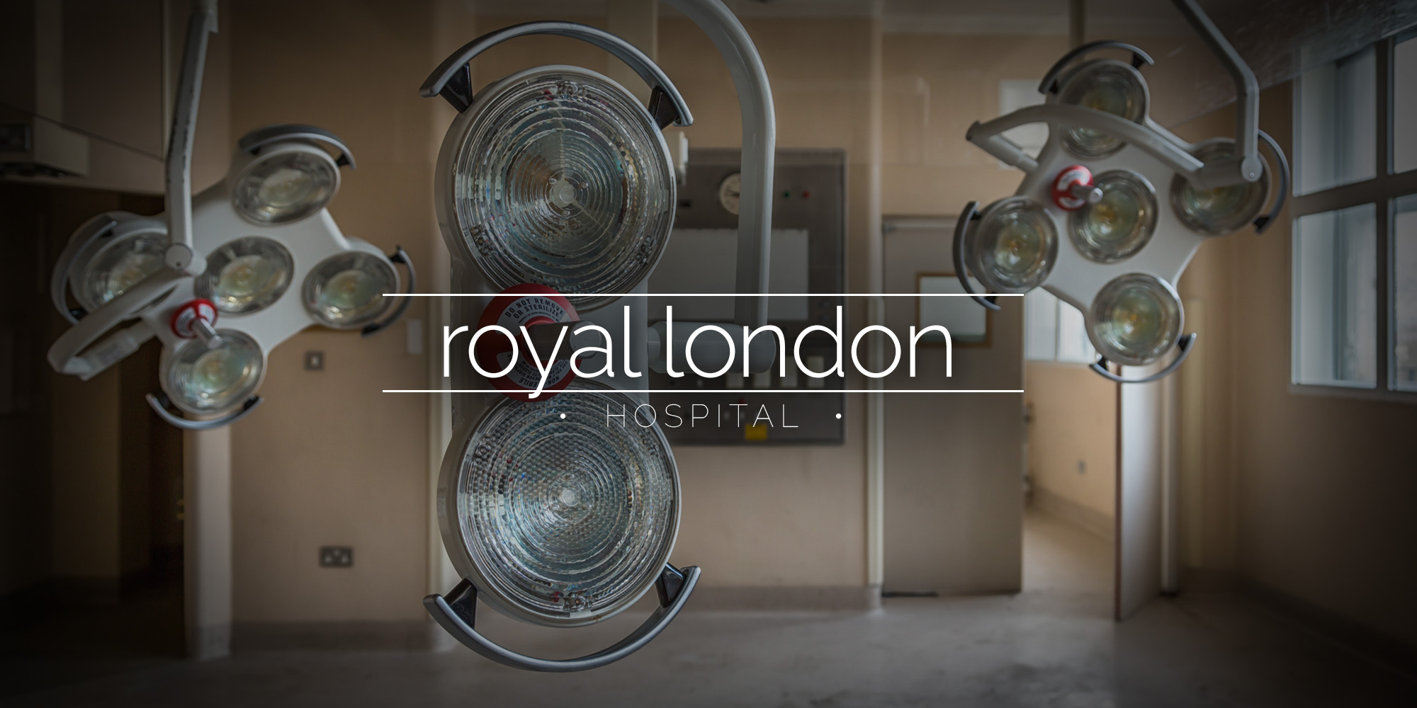 The abandoned Royal London Hospital
