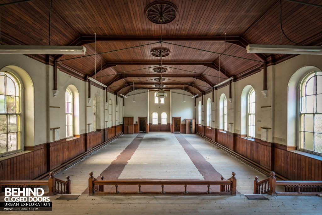 Capel Salem, Pwllheli - The chapel had a few other rooms including this one that was used as a school