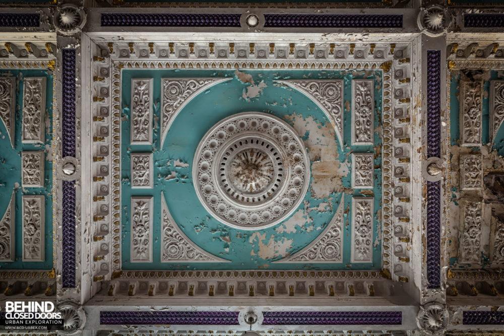 Engedi Chapel - Ceiling detail
