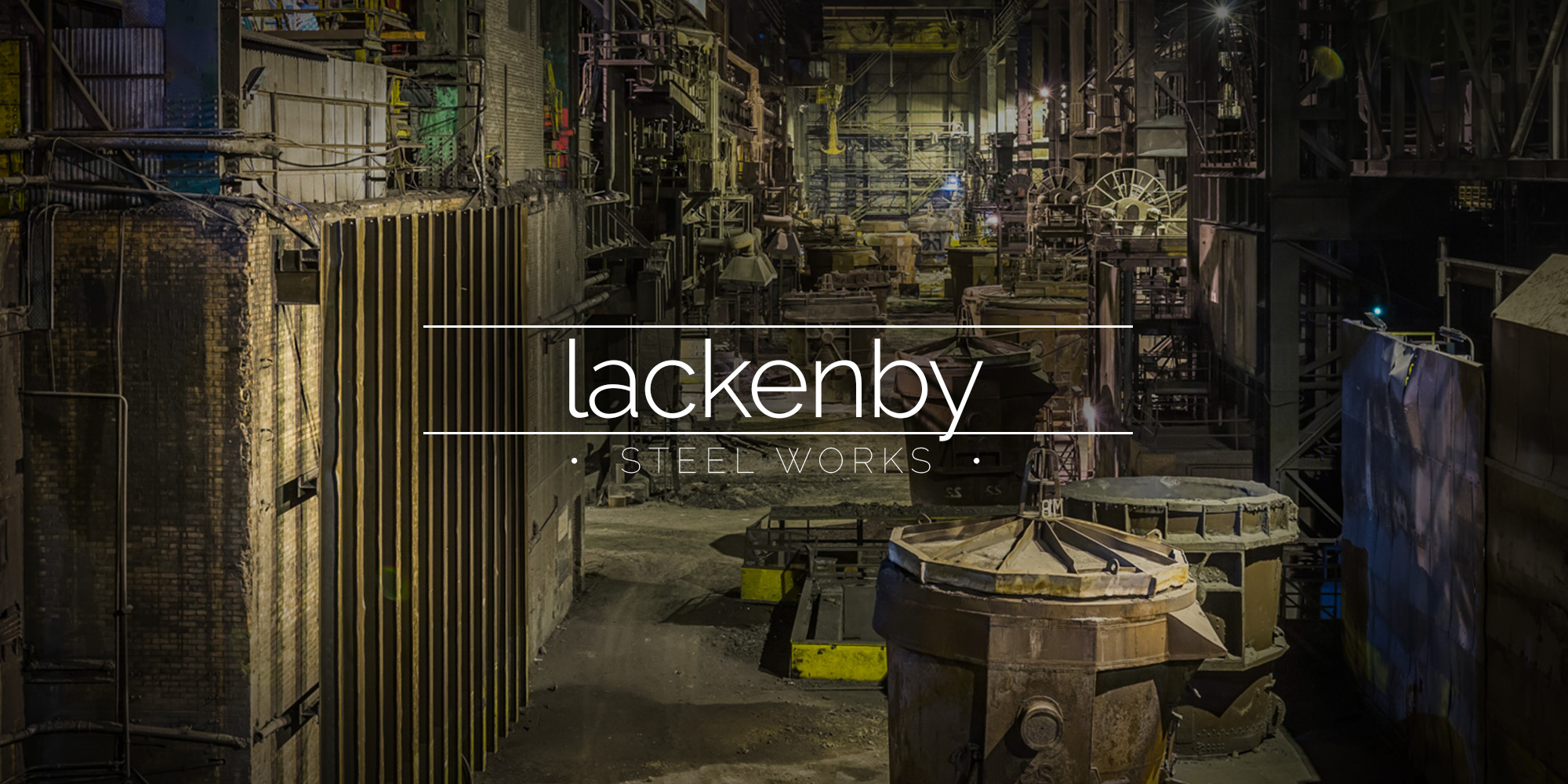 Teesside Lackenby Steelworks at Redcar