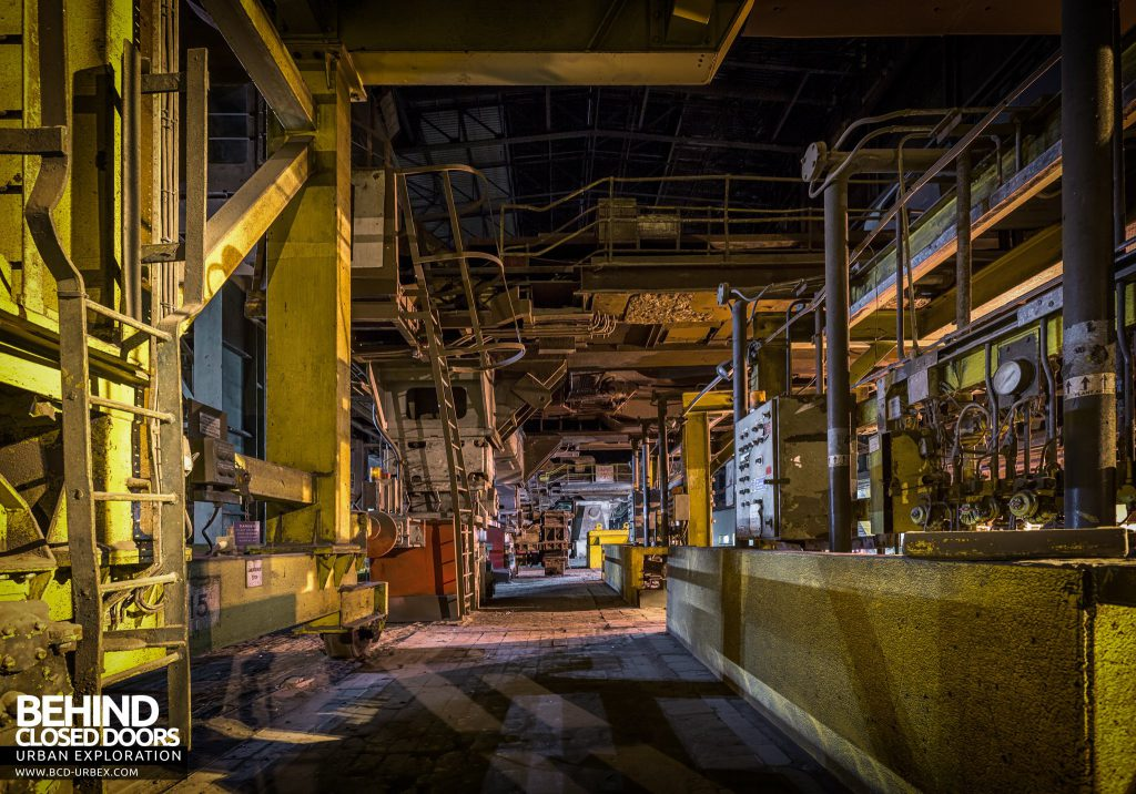 Lackenby Steelworks - Moving towards the Concast (Continuous Casting) plant