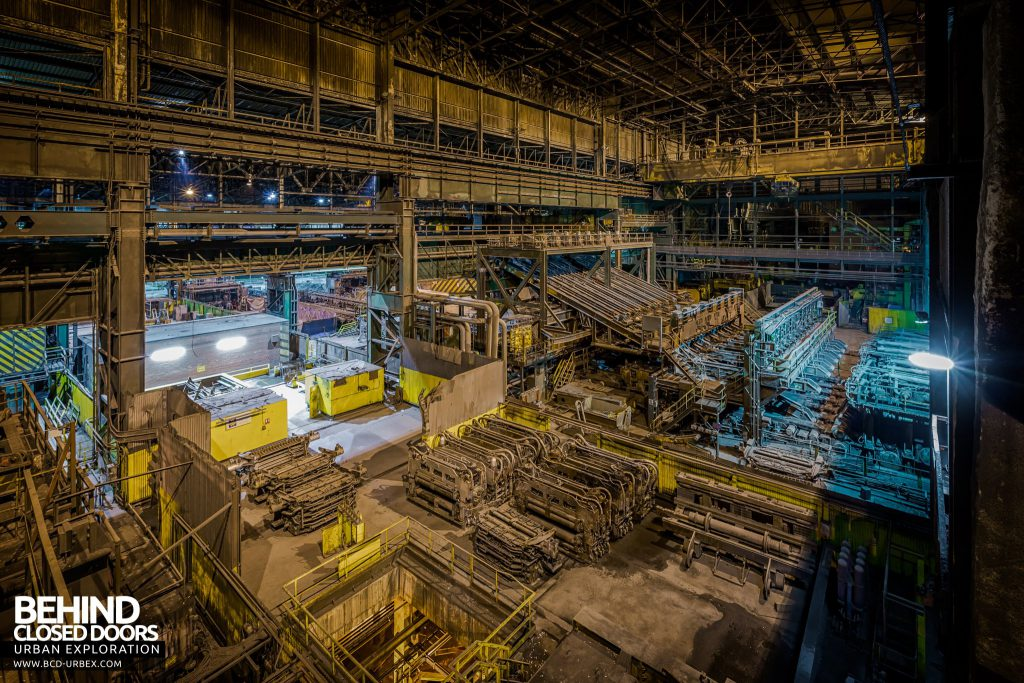 Lackenby Steelworks - Straightening and rolling mill