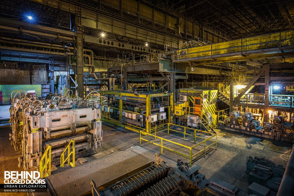 Lackenby Steelworks - Straightening plant