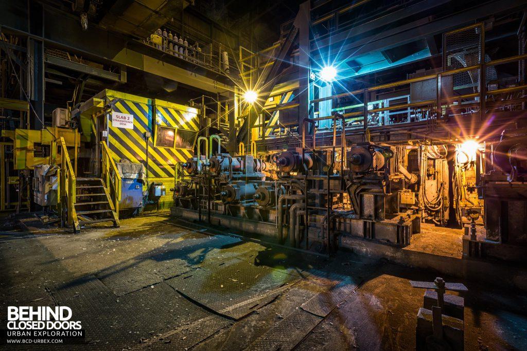 Lackenby Steelworks - Straightener machine