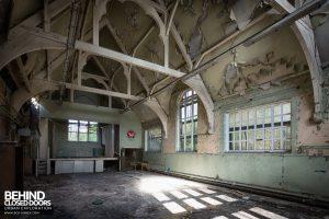St John School - The hall