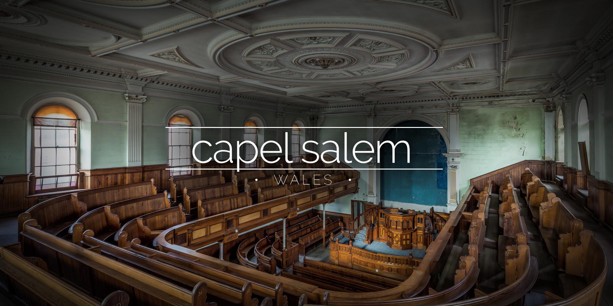 Capel Salem - abandoned chapel, Wales