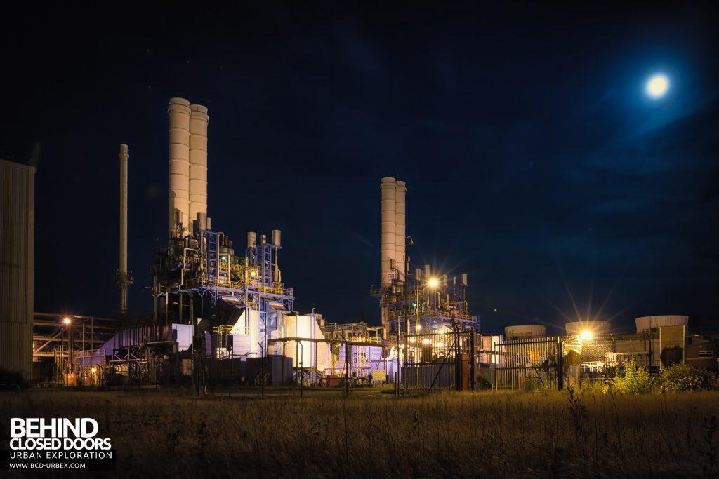 Derwent Power Station - positioned next to Spondon H