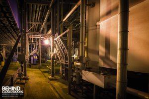 Derwent Power Station - Between gas turbines