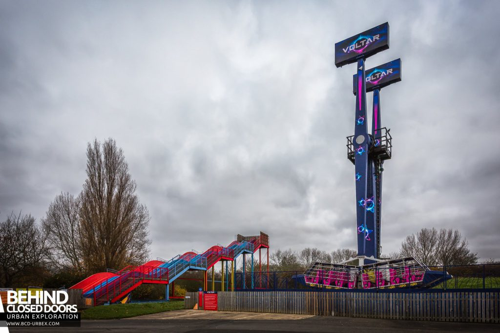 Pleasure Island, Cleethorpes - Voltar and the Astra Slide