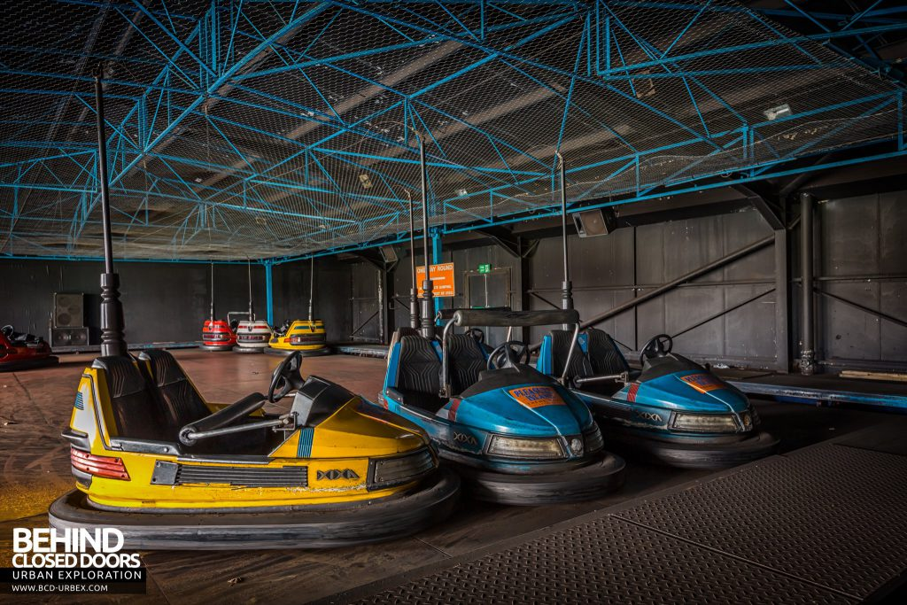 Pleasure Island, Cleethorpes - Dodgem Cars