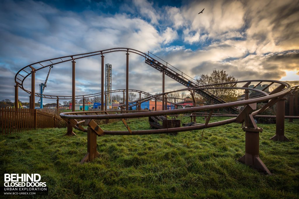 Pleasure Island, Cleethorpes - Track of the Mini Mine Train