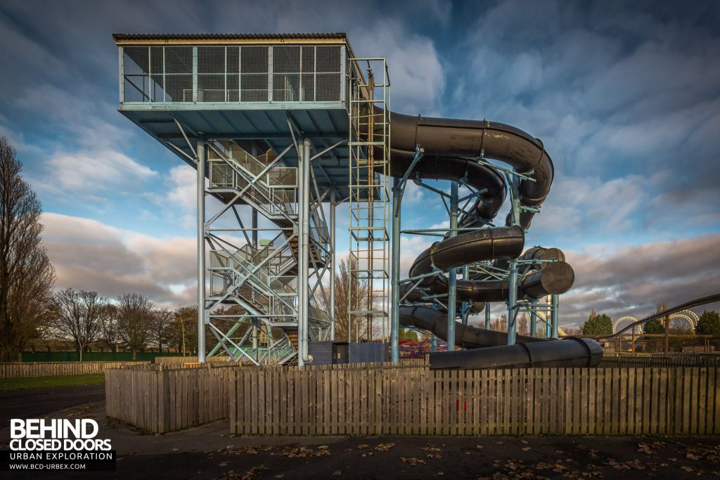 Pleasure Island, Cleethorpes - Major Orbit Water Slide