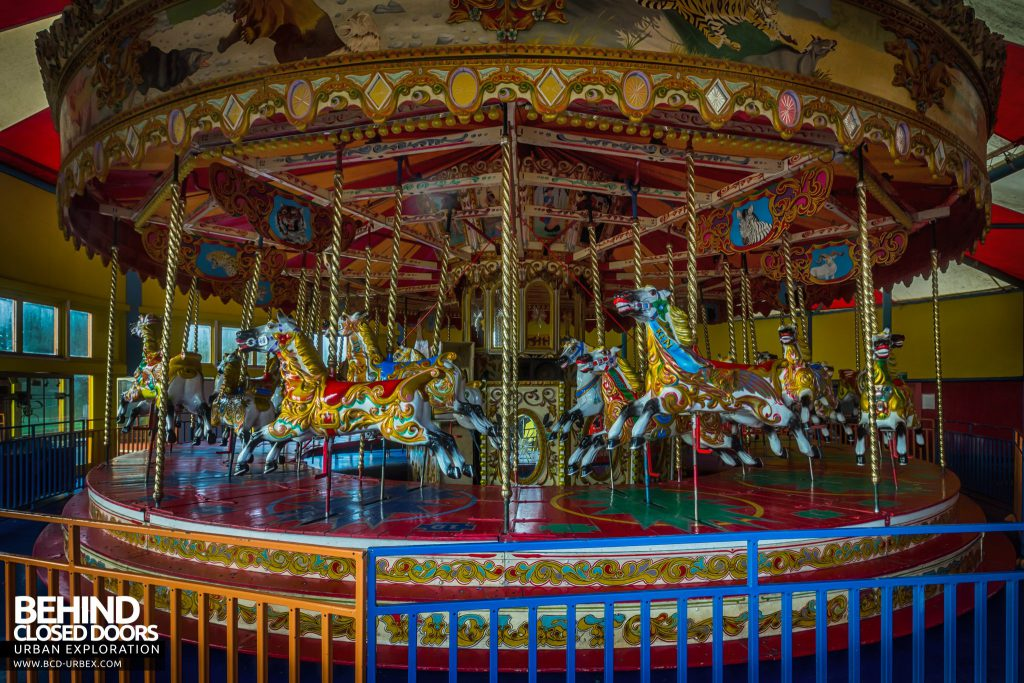 Pleasure Island, Cleethorpes - Traditional Carousel