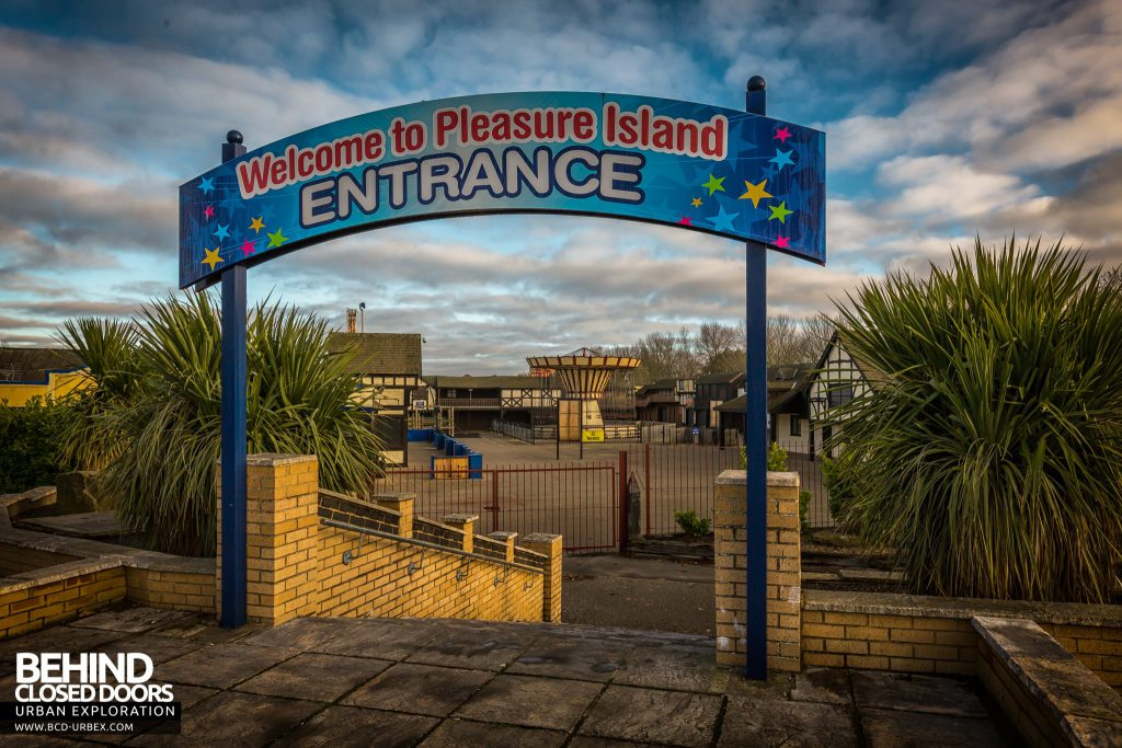 Pleasure Island, Cleethorpes - Front entrance