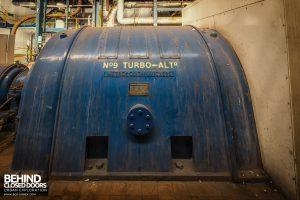Spondon H Power Station - Metropolitan Vickers Turbine